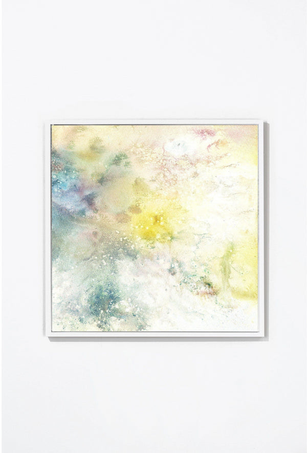 Morning Sky Wall Art Wall Art White / 17'' x 17'' Whom. Home