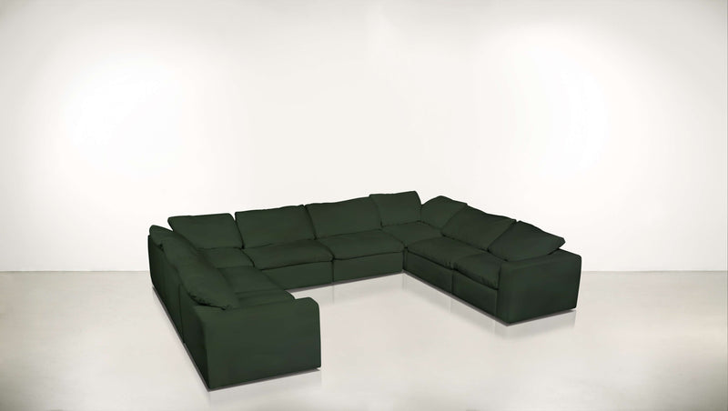 The Freelancer Modular Configuration 0218 Modular Configuration 0218 Velvet Knit Evergreen Whom. Home