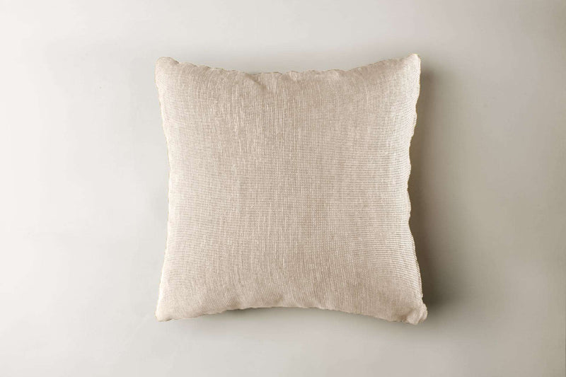 "Venus Pillow Pillow Etiquette Ivory / 20"" x 20"" Whom. Home"