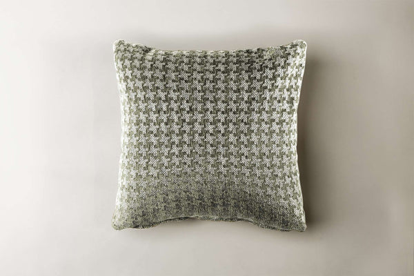 "Dogteeth Pillow Pillow Rye Ash / 16"" x 16"" Whom. Home"