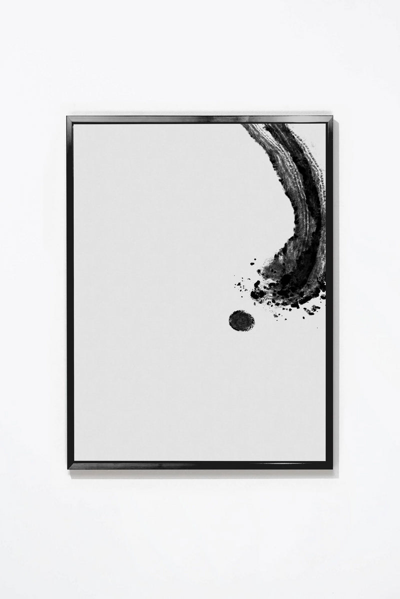 Punctual Wall Art Wall Art Black / 17'' x 21'' Whom. Home