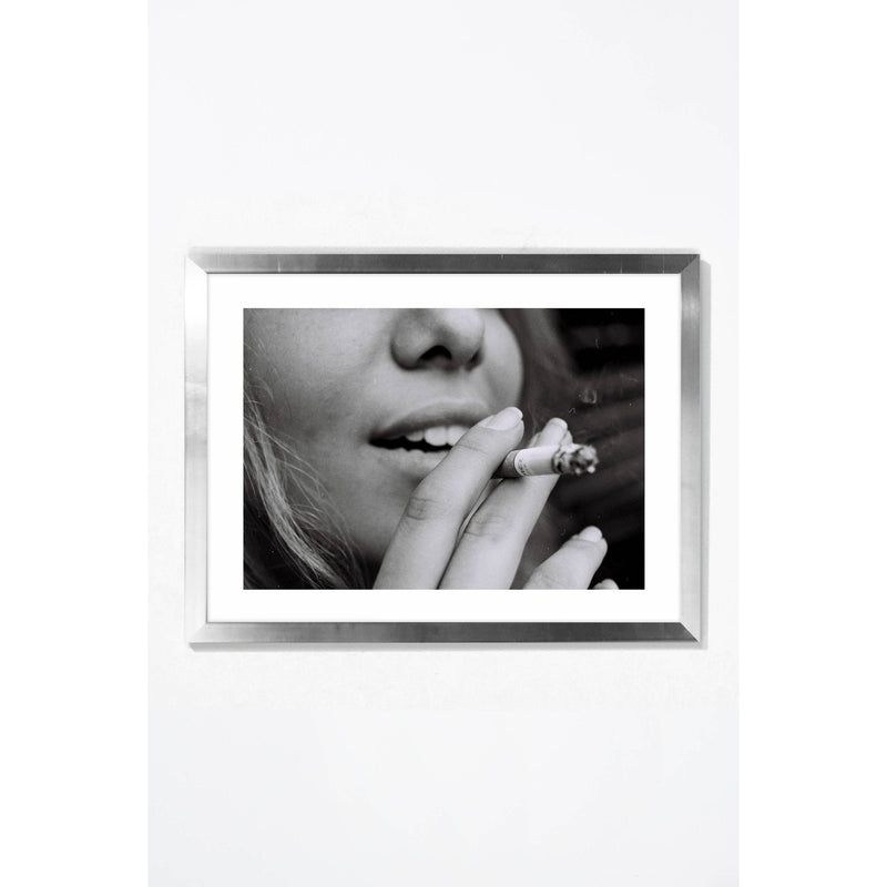 Smoke Break Wall Art Wall Art Silver / 21.25 '' x  17.25'' Whom. Home