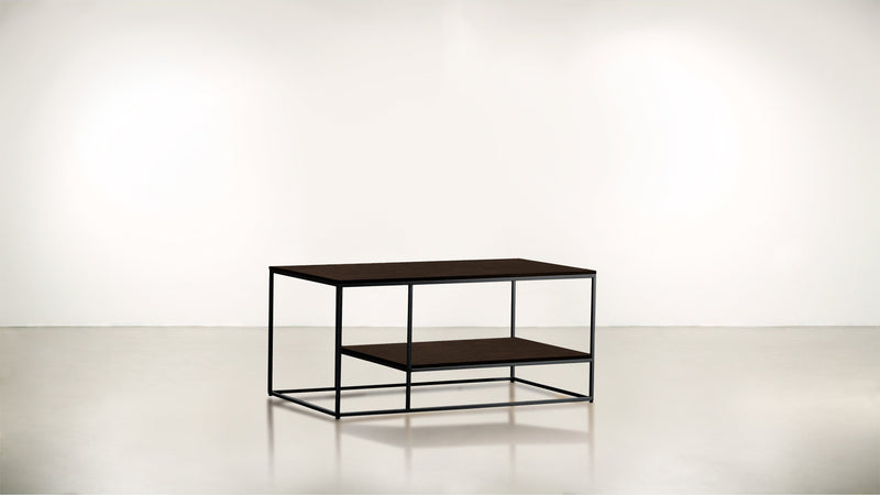 The Accomplice Coffee Table Coffee Table Black / Chocolate Whom. Home