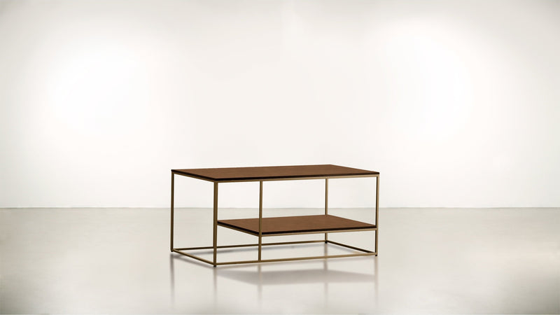 The Accomplice Coffee Table Coffee Table Brass / Hazel Whom. Home
