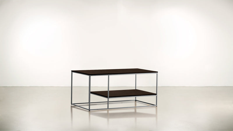 The Accomplice Coffee Table Coffee Table Silver / Chocolate Whom. Home
