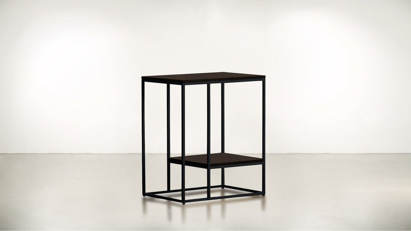 The Accomplice Side Table Side Table Chocolate / Black Whom. Home