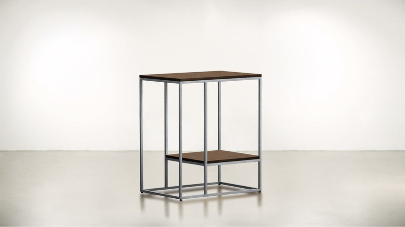 The Accomplice Side Table Side Table Hazel / Silver Whom. Home