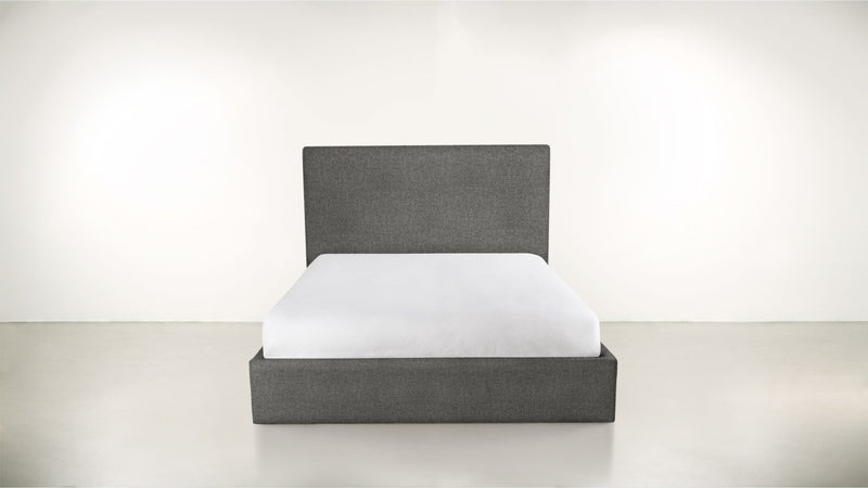 The Admirer Cal King Bed Cal King Boucle Knit Ash Whom. Home