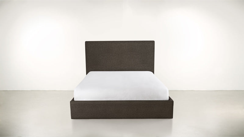 The Admirer Cal King Bed Cal King Boucle Knit Chocolate Whom. Home