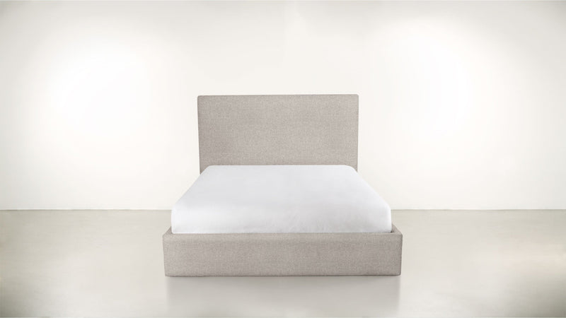 The Admirer Cal King Bed Cal King Boucle Knit Platinum Whom. Home