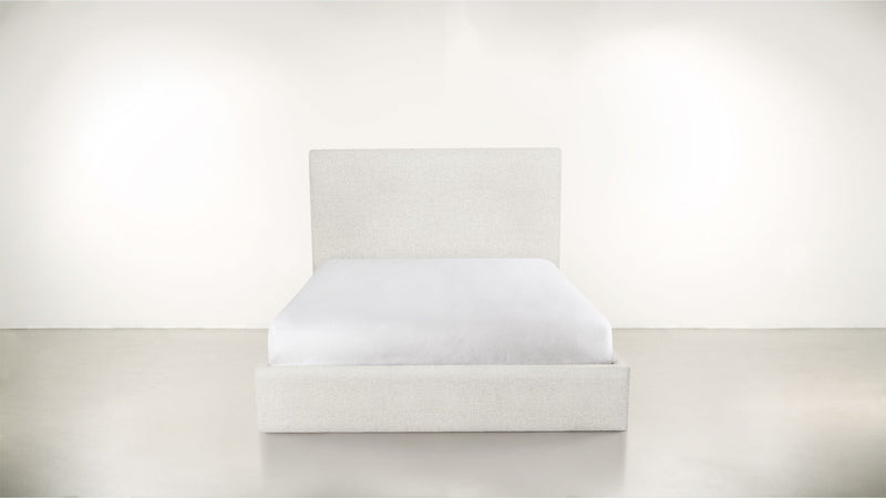 The Admirer Cal King Bed Cal King Boucle Knit Snow Whom. Home