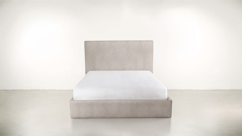 The Admirer Cal King Bed Cal King Classic Linen Weave Almond Whom. Home