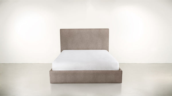 The Admirer Bed Cal King Classic Linen Weave Mink Whom. Home