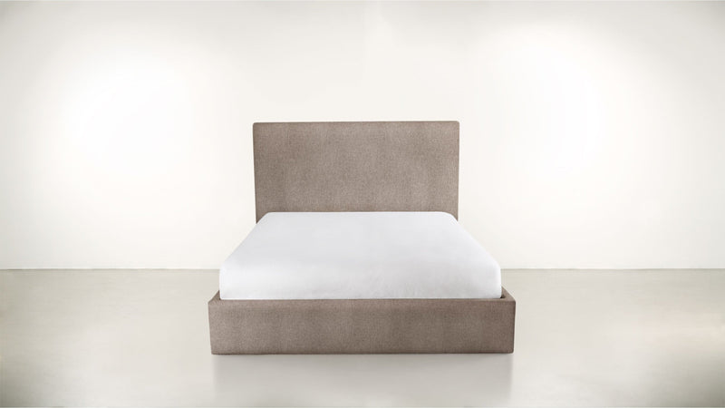 The Admirer Cal King Bed Cal King Classic Linen Weave Mink Whom. Home