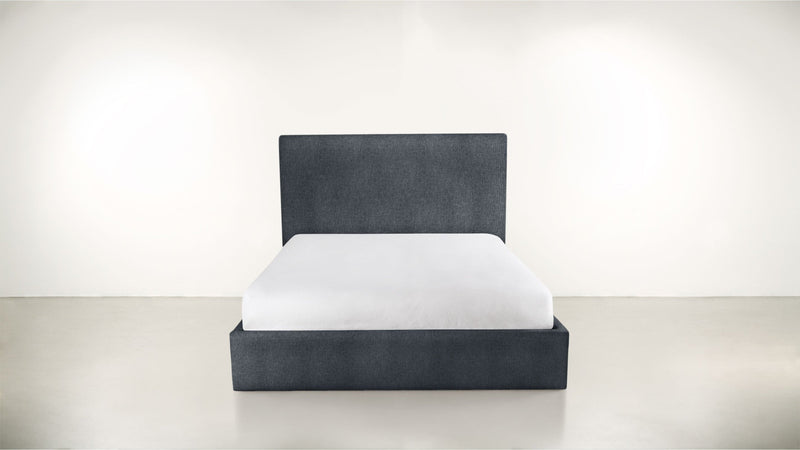The Admirer Cal King Bed Cal King Classic Linen Weave Navy Whom. Home