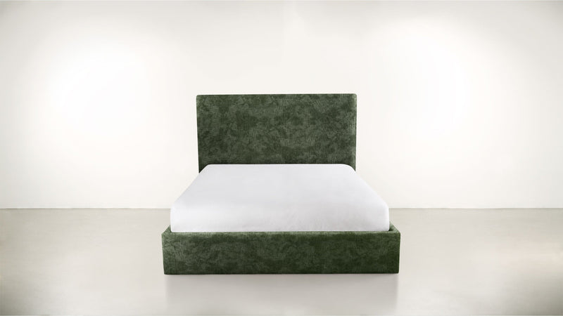 The Admirer Cal King Bed Cal King Crushed Micro-Chenille Forest Whom. Home