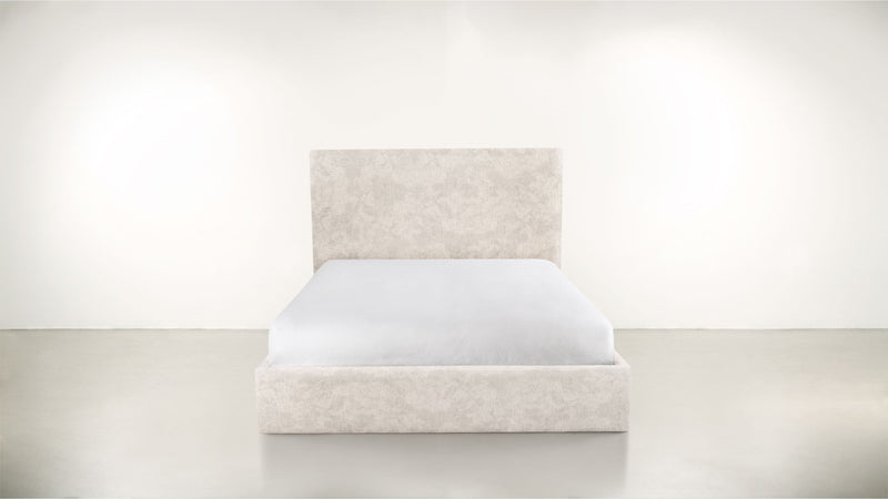 The Admirer Cal King Bed Cal King Crushed Micro-Chenille Snow Whom. Home