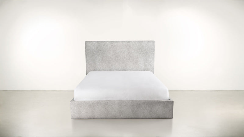 The Admirer Cal King Bed Cal King Lightweight Micro-Chenille Dove Whom. Home