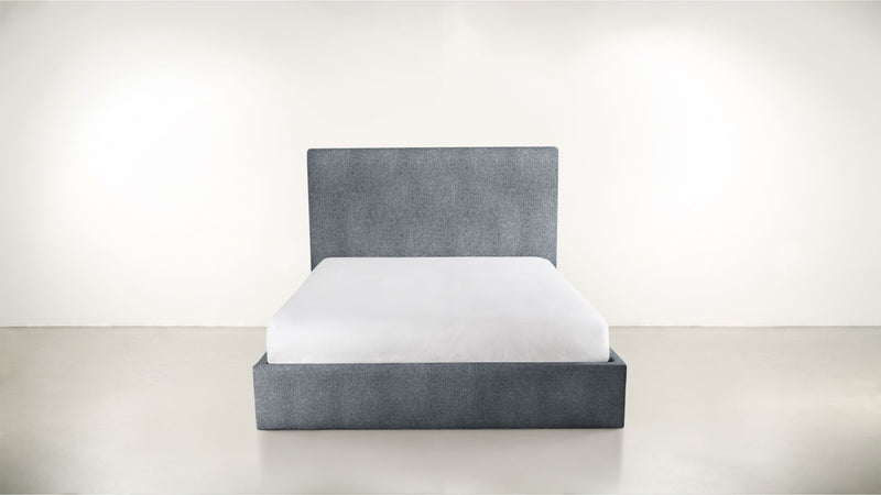 The Admirer Cal King Bed Cal King Lightweight Micro-Chenille French Blue Whom. Home
