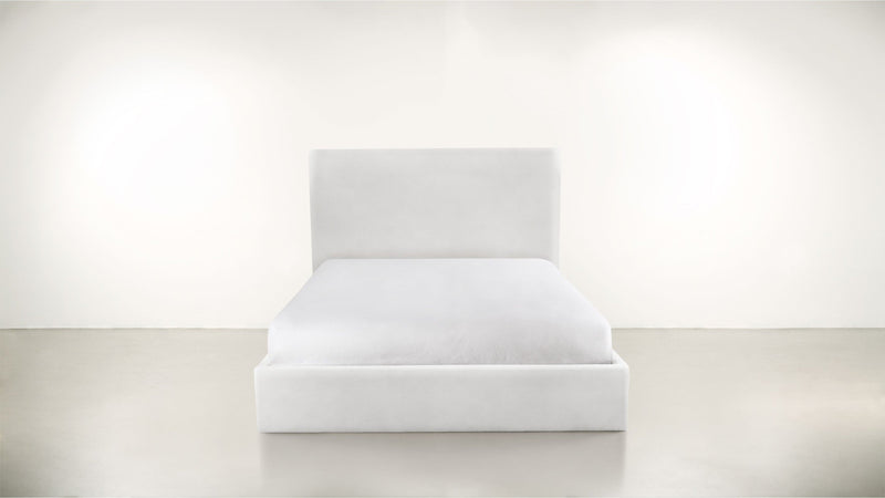 The Admirer Cal King Bed Cal King Structured Velvet Divine Whom. Home