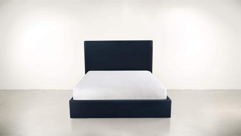 The Admirer Cal King Bed Cal King Structured Velvet Eclipse Whom. Home