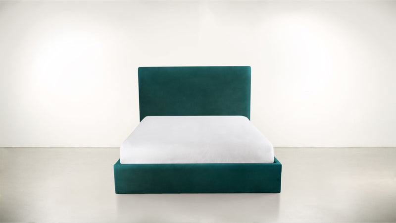 The Admirer Cal King Bed Cal King Velvet Knit Peacock Whom. Home