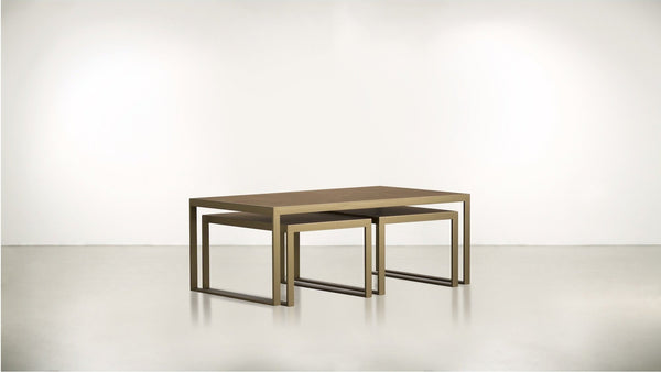 The Alchemist Coffee Table Coffee Table Hazel / Brass Whom. Home