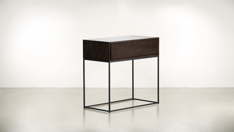 The Beau Ideal Nightstand Nightstand Chocolate / Black Whom. Home