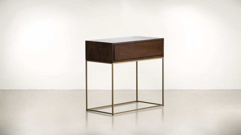 The Beau Ideal Nightstand Nightstand Hazel / Brass Whom. Home