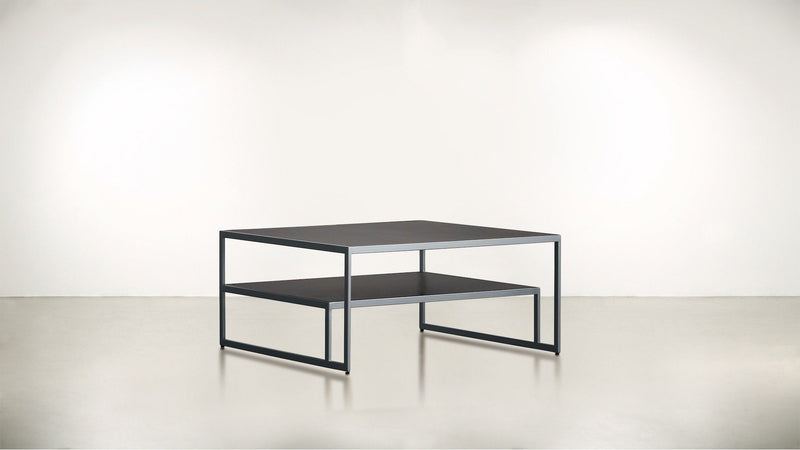 The Regent Coffee Table Coffee Table Chocolate / Silver Whom. Home