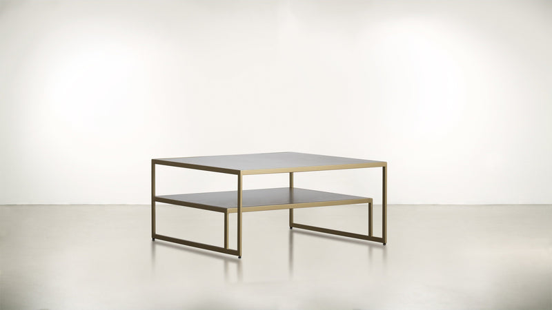 The Regent Coffee Table Coffee Table Hazel / Brass Whom. Home
