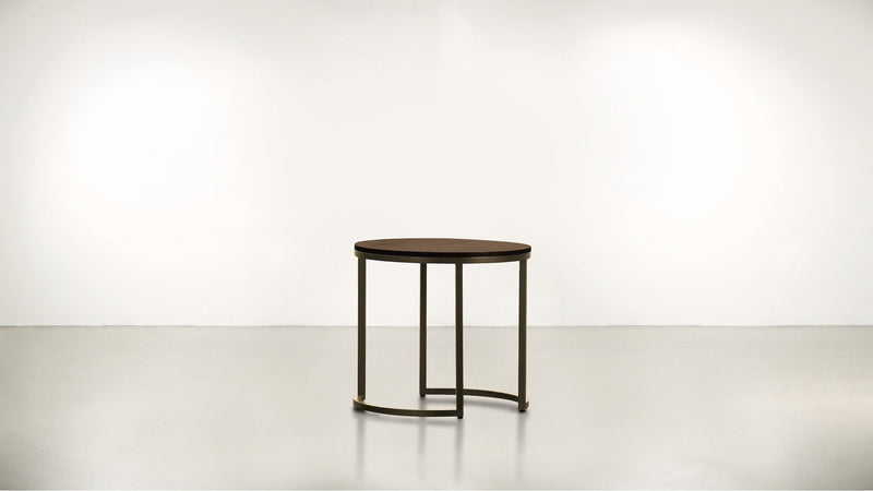 The Cosmopolite Side Table Side Table Hazel / Brass Whom. Home