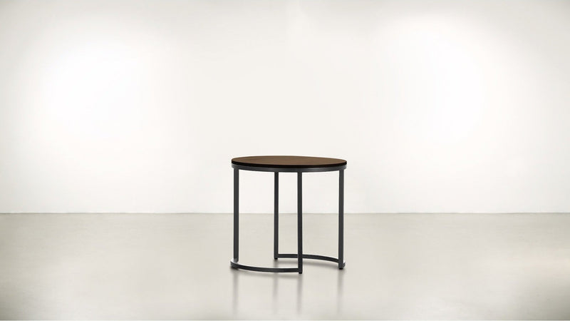 The Cosmopolite Side Table Side Table Hazel / Silver Whom. Home