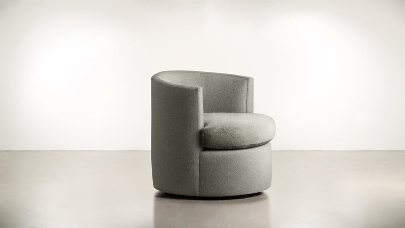 The Curator Lounge Chair Lounge Chair Boucle Knit Platinum Whom. Home