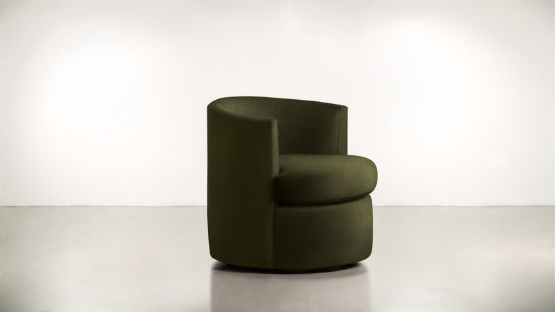The Curator Lounge Chair Lounge Chair Lightweight Micro-Chenille Avocado Whom. Home