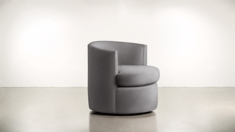 The Curator Lounge Chair Lounge Chair Soft Heathered Weave Platinum Whom. Home