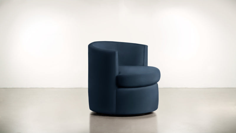 The Curator Lounge Chair Lounge Chair Velvet Knit Cobalt Whom. Home