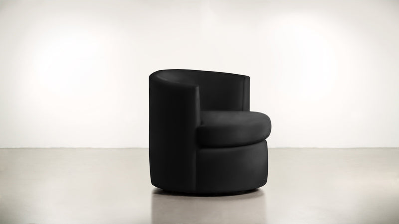 The Curator Lounge Chair Lounge Chair Velvet Knit Onyx Whom. Home
