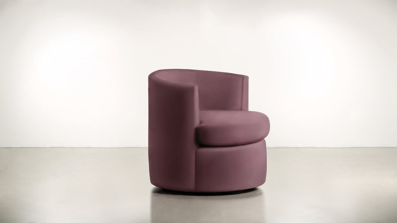 The Curator Lounge Chair Lounge Chair Velvet Knit Rose Whom. Home