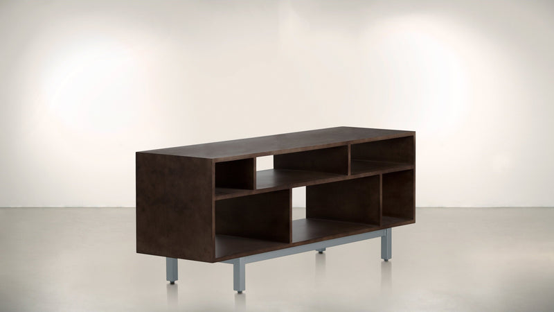 The Diplomat Media Console Media Console Chocolate / Silver Whom. Home