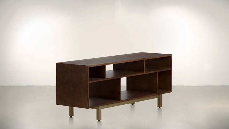 The Diplomat Media Console Media Console Hazel / Brass Whom. Home