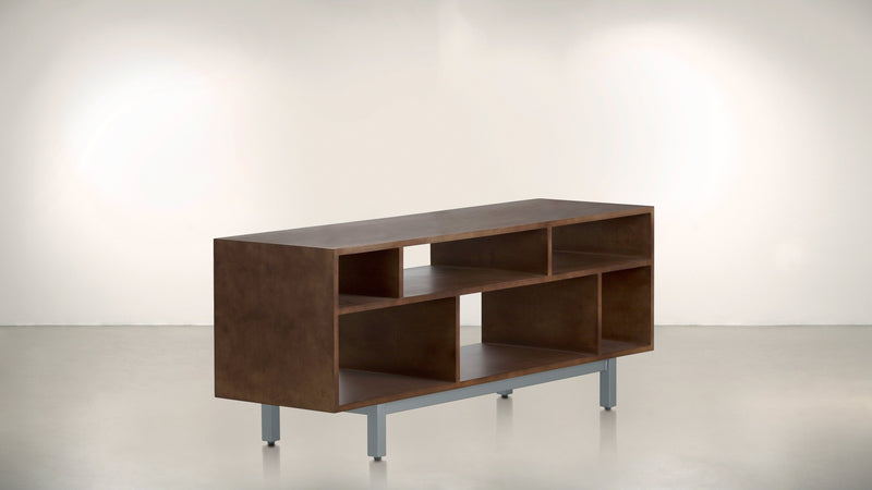 The Diplomat Media Console Media Console Hazel / Silver Whom. Home