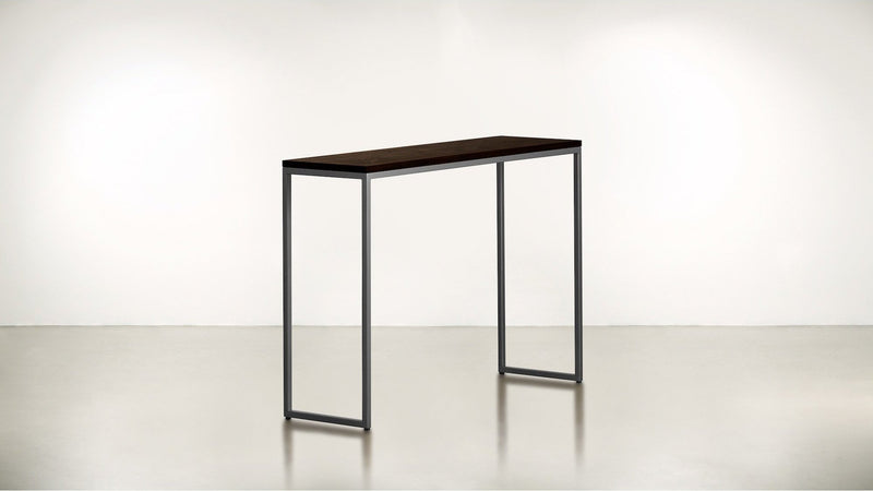 The Essentialist Console Console Chocolate / Silver Whom. Home