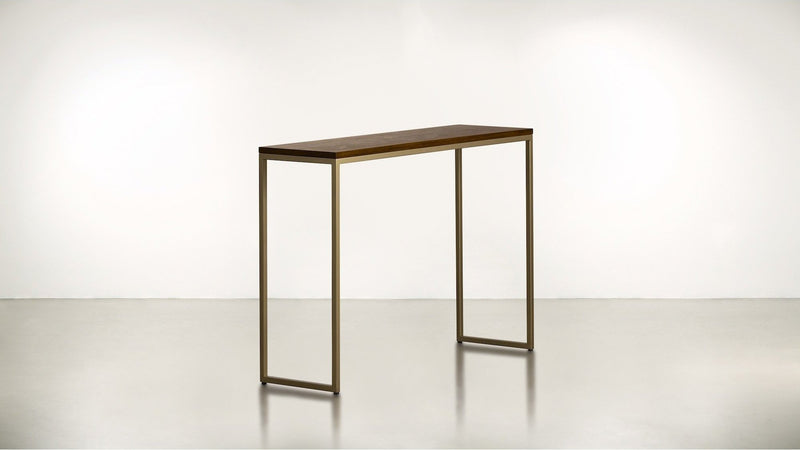 The Essentialist Console Console Hazel / Brass Whom. Home