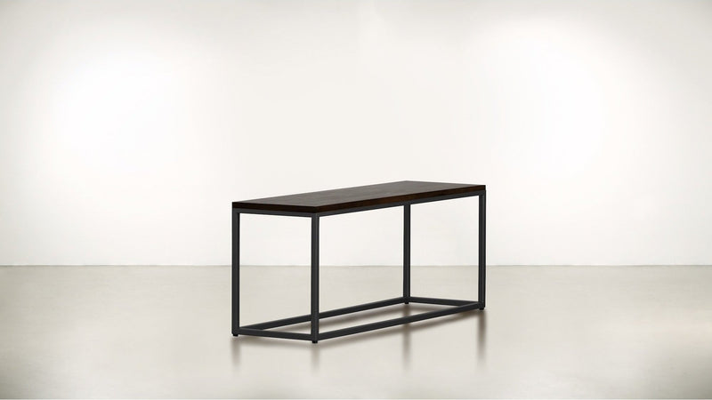 The Essentialist Short Side Table Short Side Table Black / Chocolate Whom. Home