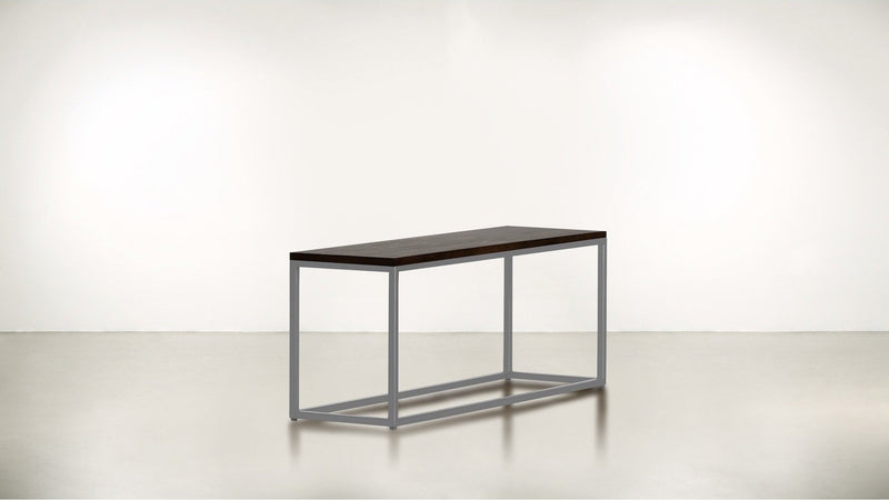 The Essentialist Short Side Table Short Side Table Silver / Chocolate Whom. Home