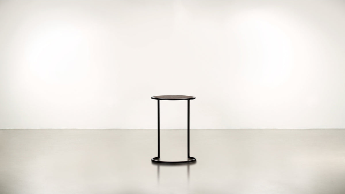 The Free Spirit Side Table Side Table Black / Chocolate Whom. Home