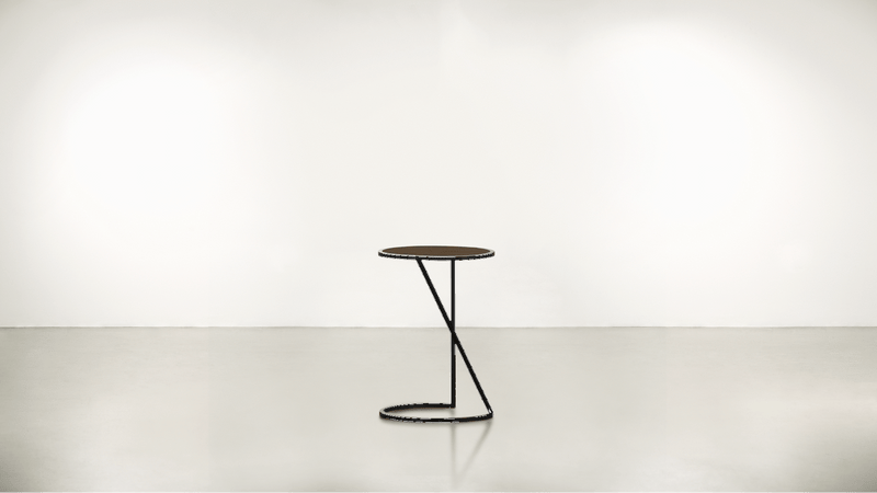 The Free Spirit Side Table Side Table Black / Hazel Whom. Home