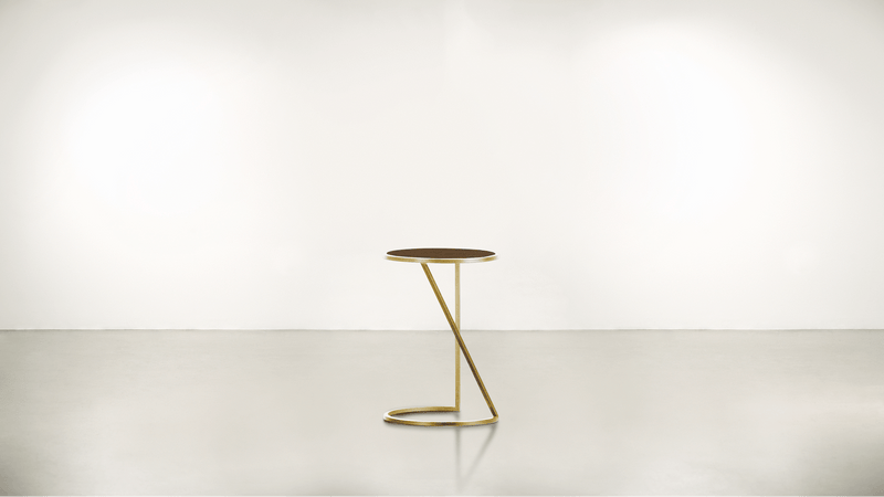 The Free Spirit Side Table Side Table Brass / Hazel Whom. Home