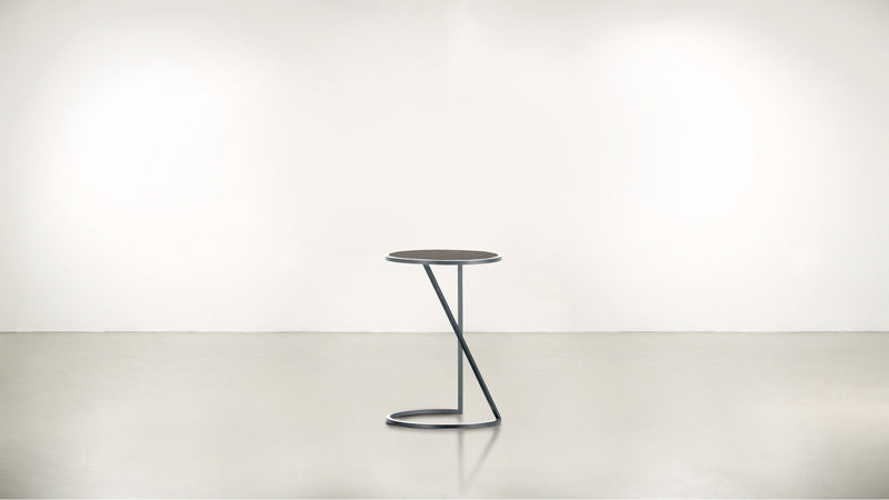 The Free Spirit Side Table Side Table Silver / Chocolate Whom. Home